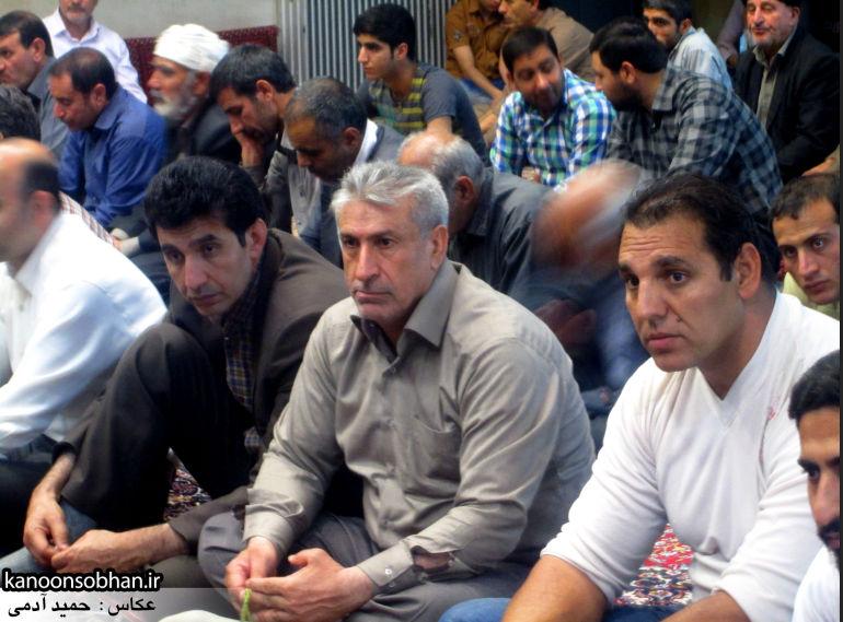 جشن میلاد امام حسین(ع) با حضور فرماندار کوهدشت در مسجد جامع/تصویری