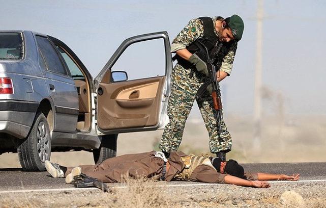 درگیری ارتش ایران با داعشیها؟+عکس
