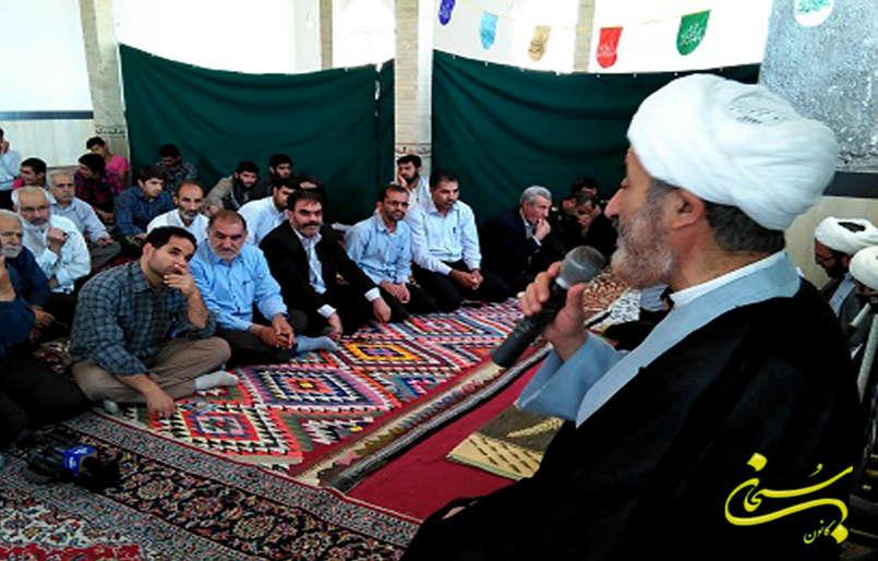 مسجد امام حسن (ع) روستای شاه نظر کوهدشت افتتاح شد.+عکس
