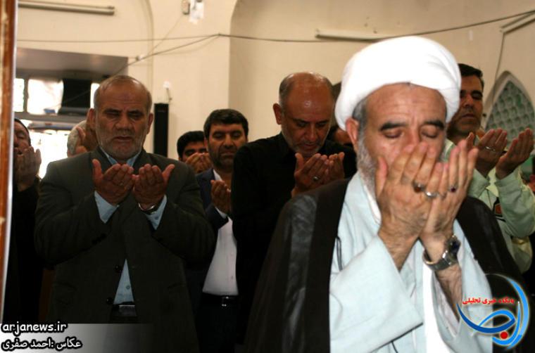 گزارش تصویری«آخرین نماز جمعه رمضان ۹۴ »کوهدشت