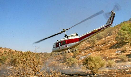 تصاویر هوایی و زمینی«روز پایانی آتش سوزی بلوطستان»کوهدشت