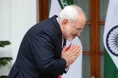 عکس/سپاس هندی«محمدجواد ظریف!»