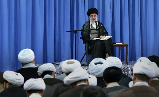 گزارش تصویری «درس خارج فقه مقام معظم رهبری» /یک شنبه ۵ مهر ۹۴