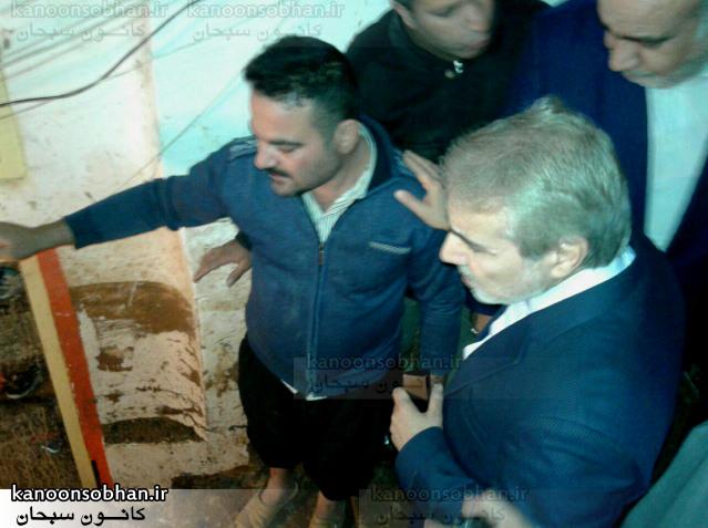 تصویر بازدید دکتر نوبخت معاون رئیس جمهور از پاساژ  کوهدشت