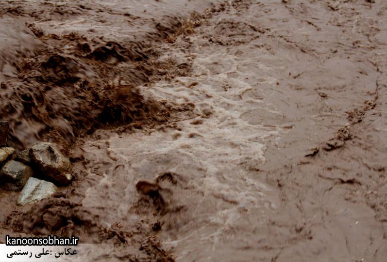 گراب و کوهنانی در محاصره کامل آب + جزئیات