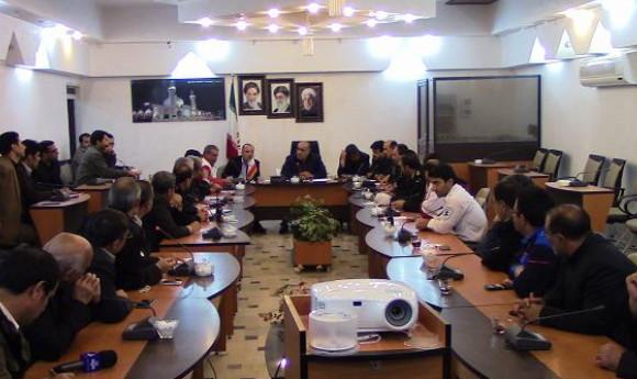 تصاویر جلسه ستاد بحران استان لرستان در کوهدشت