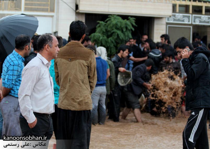 کشته شدن دونفر در سیل کوهدشت+عکس