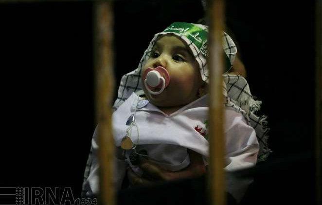 گزارش تصویری «مراسم شیرخوارگان حسینی(ع)» خرم آباد لرستان محرم ۹۴
