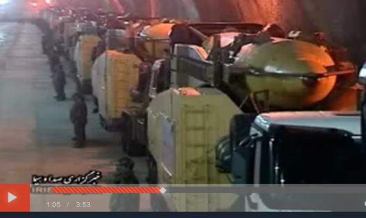 فیلم « شهر موشکی سپاه ایران در عمق ۵۰۰ متری زمین»+پخش آنلاین