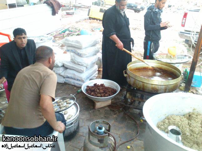 تصاویر اختصاصی کانون سبحان از پذیرایی مردم عراق در اربعین حسینی ۹۴