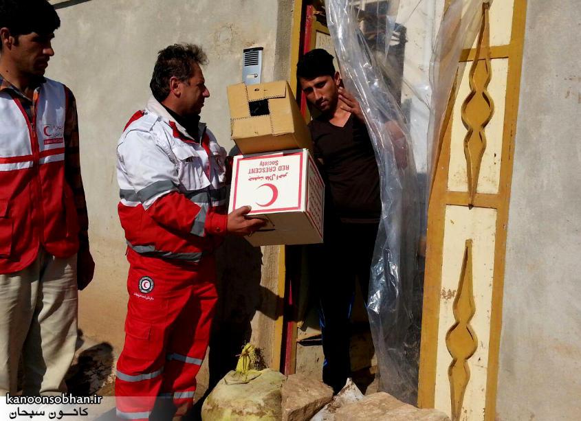 رسیدگی فعال هلال احمر کوهدشت به مناطق سیل زده کوهدشت+آمار و عکس
