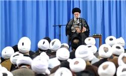 رهبر معظم انقلاب:حرکت اربعین حرکت عشق و ایمان است./ای کاش همراه شما بودیم./کسی خارج از ضوابط و مقررات دولت نرود!+صوت