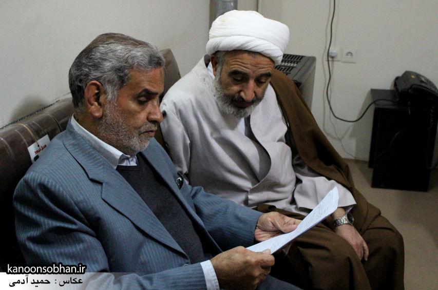 تصاویر دیدار امام جمعه کوهدشت با نماینده آیت الله مکارم شیرازی در امور مسجد