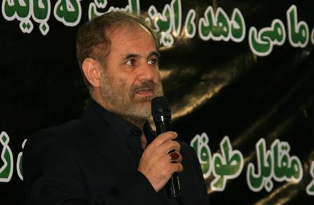 تصاویر گردهمایی حامیان سردار حاج حسن باقری