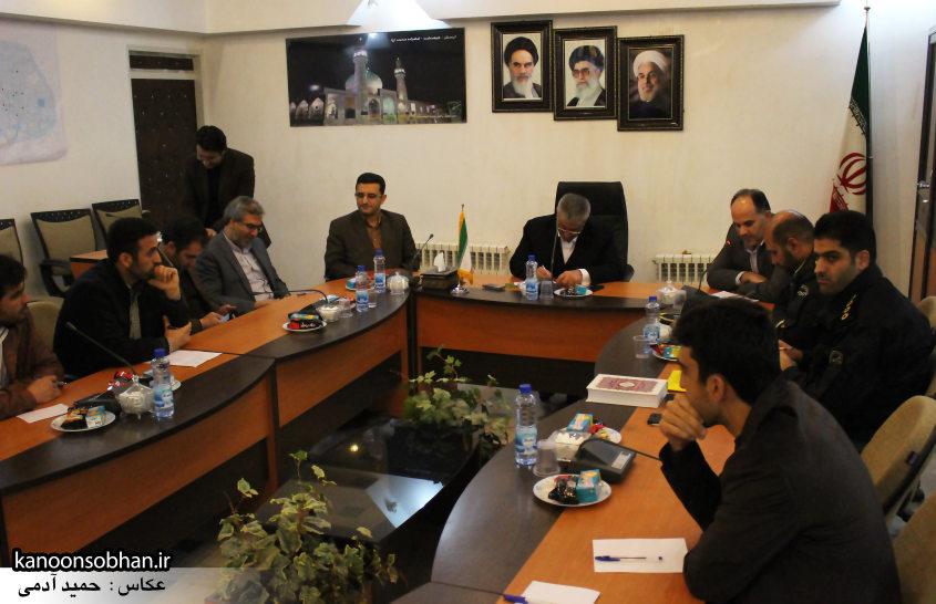 تصاویر نشست خبرنگاران با فرماندار کوهدشت