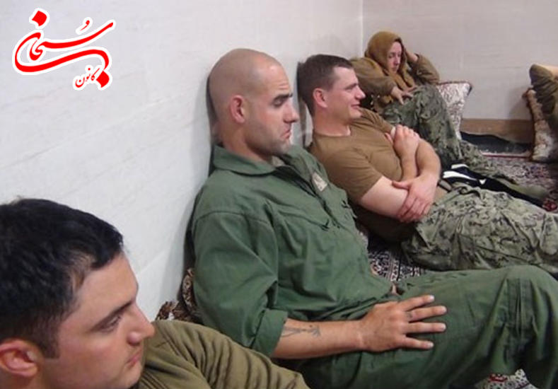 تصاویر نظامیان آمریکایی بازداشت شده در ایران