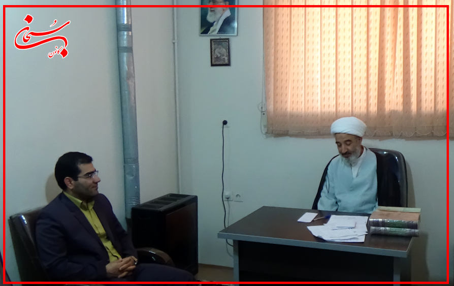 اولین دیدار فرماندار جدید کوهدشت با امام جمعه شهرستان/عکس