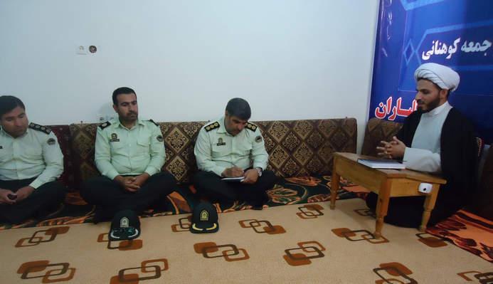 دیدار فرمانده انتظامی شهرستان کوهدشت با امام جمعه بخش کوهنانی