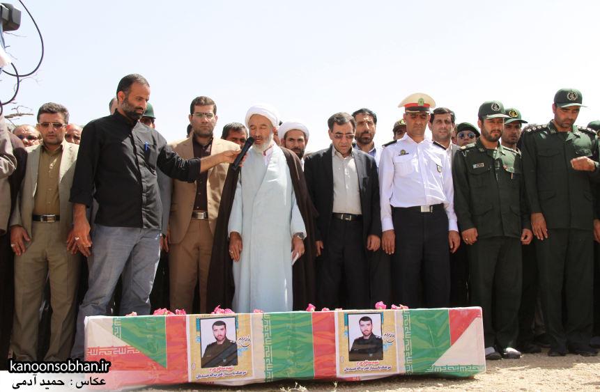 تصاویر تشییع و تدفین شهید والامقام «حاج قدرت الله عبدیان» در کوهدشت /سری سوم