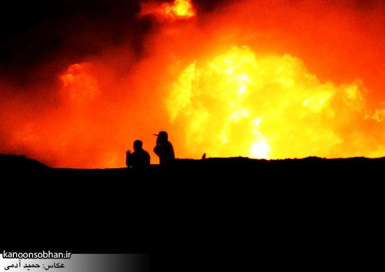 تصاویر شب اول بازسازی عملیات کربلای ۲ در کوهدشت لرستان