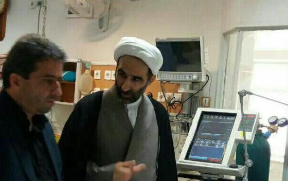 عیادت آیت الله احمد مبلغی از نماینده سابق لرستان در مجلس خبرگان رهبری+عکس