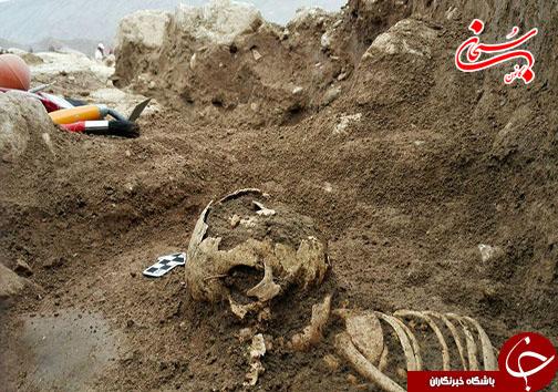 کشف اجساد دوره ساسانیان در کوهدشت لرستان+عکس