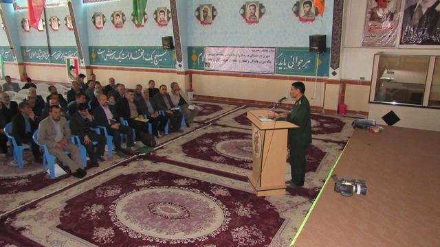 گزارش تصویری محفل انس و مودت (گلگشت ) بازنشستگان در سپاه ناحیه کوهدشت