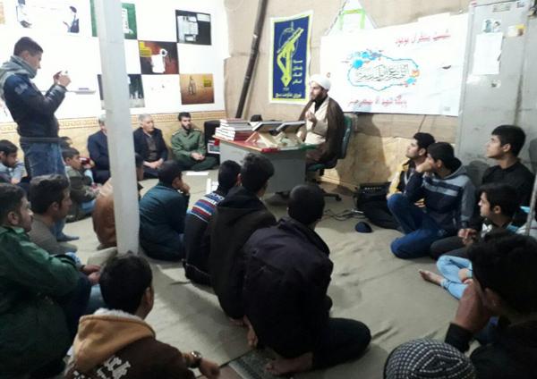تصاویر فراخوانی گردان عاشورا پایگاه آقا مصطفی کوهدشت