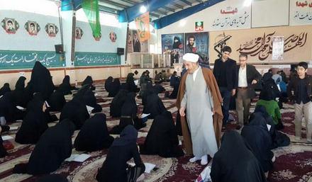 گزارش تصویری برگزاری آزمون بزرگ حفظ جزء ۳۰ قرآن دانشگاه پیام نور کوهدشت