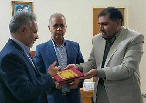 مسئول جدید جمعیت هلال احمر شهرستان کوهدشت منصوب شد+عکس