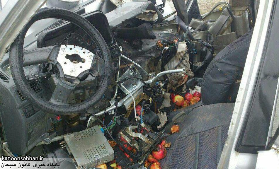 یک کشته و چهار مصدوم در سانحه رانندگی در محور خرم آباد- کوهدشت+جزئیات و عکس