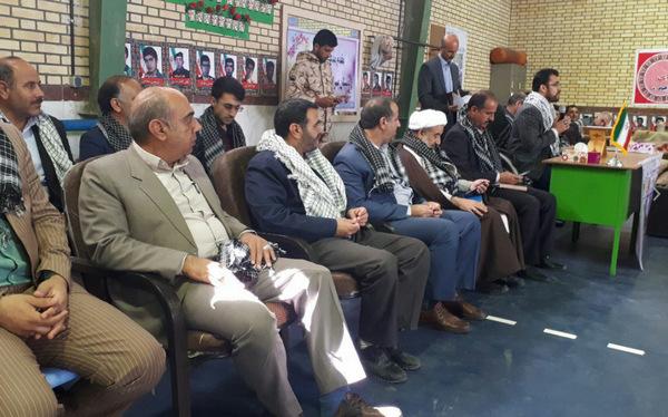 گزارش فعالیتهای هفته بزرگداشت شهدا وسالروز تاسیس بنیادشهید و گزارش کار سال ۹۶+ عکس