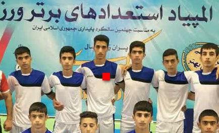 نونهال کوهدشتی به اردوی تیم ملی کبدی جمهوری اسلامی ایران دعوت شد+عکس