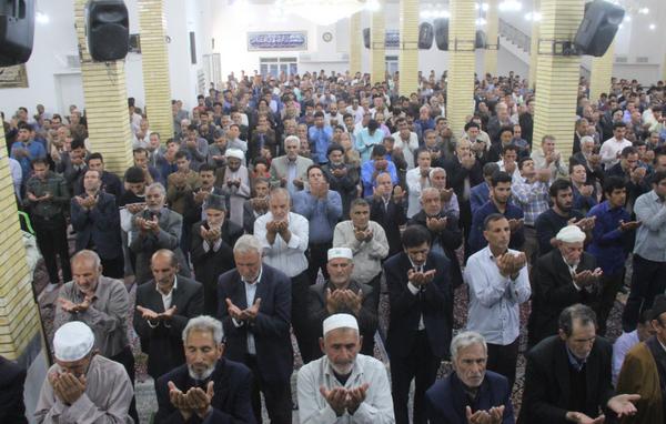 تصاویر اولین نماز جمعه رمضان ۹۸ کوهدشت