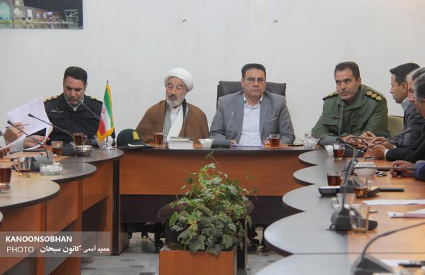 تصاویر جلسه شورای اداری کوهدشت