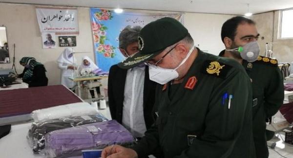۱۴ کارگاه تولید ماسک در لرستان فعال شد/تولید ۱۶ هزار ماسک در پلدختر و معمولان
