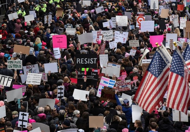 تظاهراتِ مردم آمریکا ضربهای مهلک بر پیکره ناعدالتی و ظلم است
