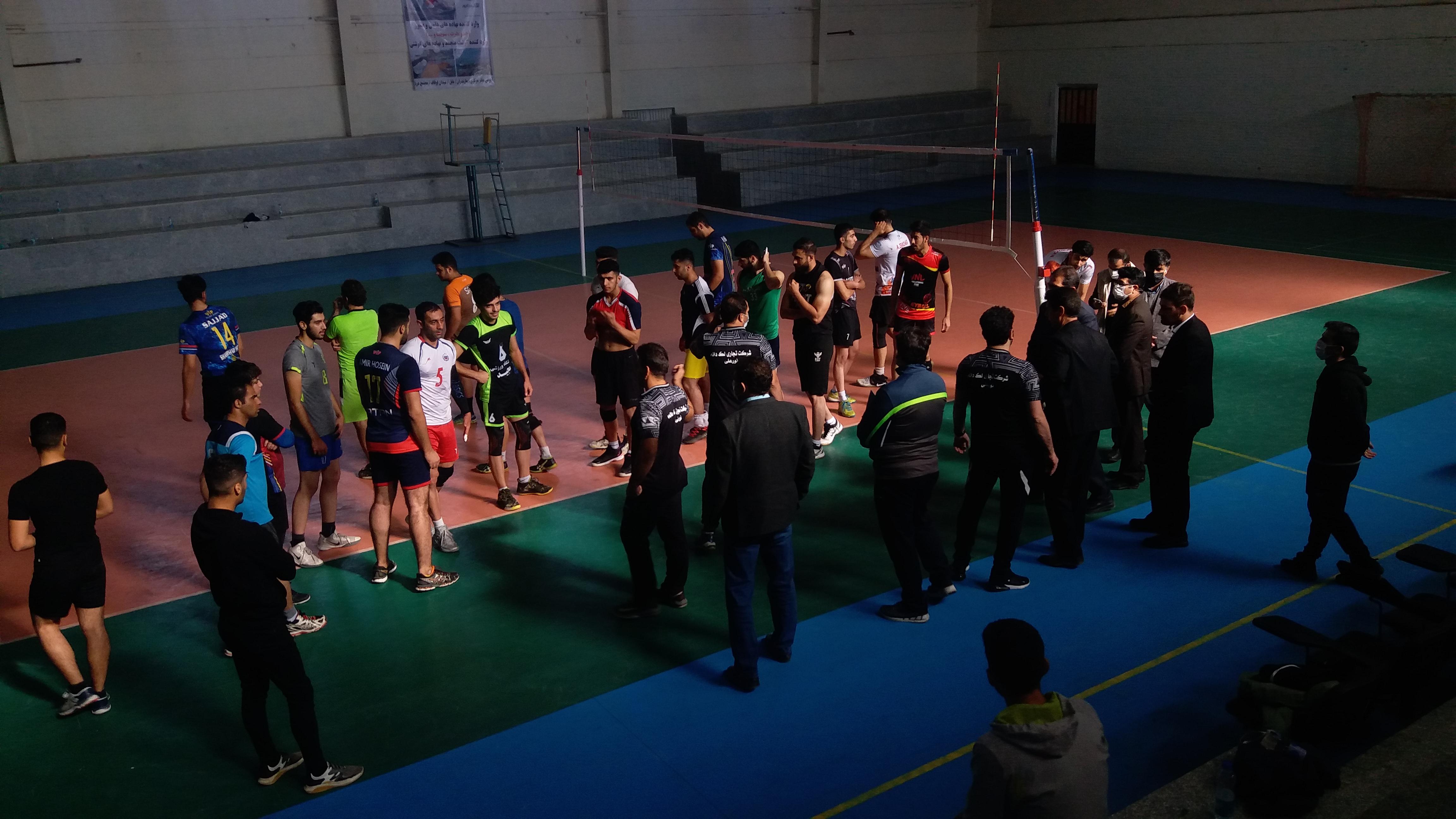 رقابتهای انتخابی لیگ یک والیبال لک دانه کوهدشت