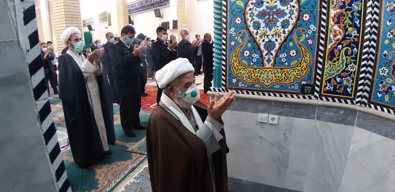 تصاویر نمازجمعه ۱۹دی ماه ۹۹کوهدشت