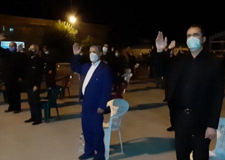 شب پنجم عزاداری محرم هیئت رزمندگان اسلام سپاه کوهدشت