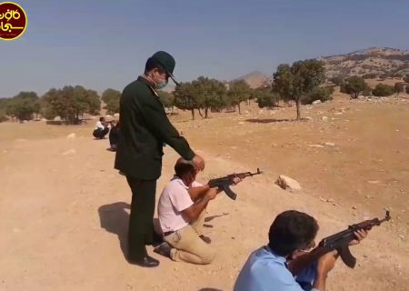 تمرین رزمایش تاکتیکی گردان های بیت المقدس و امام علی(ع) کوهدشت