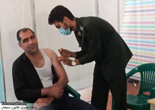 روند پرشتاب واکسیناسیون سیار و ثابت کرونا در کوهدشت