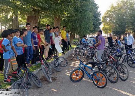 برگزاری همایش دوچرخه سواری ویژه نوجوانان در کوهدشت
