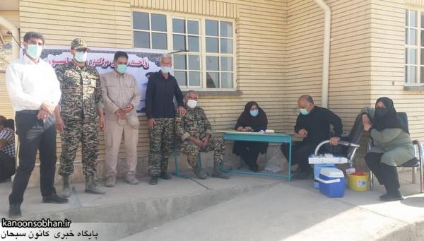 طرح واکسیناسیون خانه به خانه مناطق محروم کوهدشت