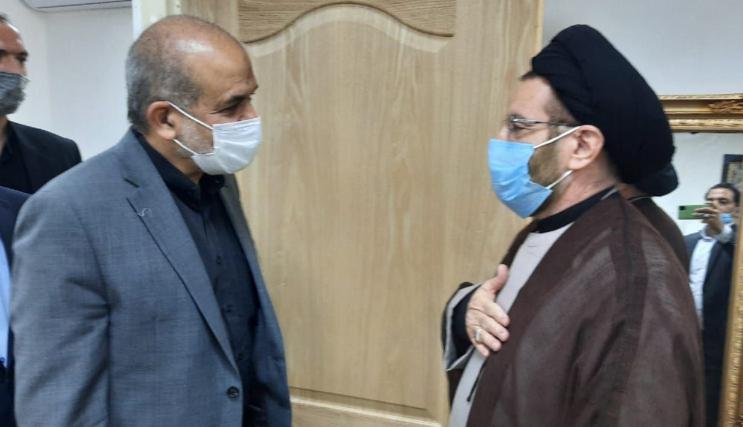 وزیر کشور با نماینده ولی فقیه در لرستان دیدار کرد