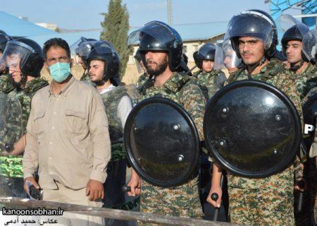 تمرینات رزمایش تاکتیکی گردانهای امام علی(ع) سپاه کوهدشت